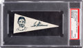 Baseball Cards:Singles (1950-1959), 1950 BF8 American Nut & Chocolate Pennants Ted Williams PSAMint 9....