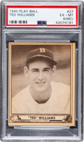 Baseball Cards:Singles (1940-1949), 1940 Play Ball Ted Williams #27 PSA EX-MT 6 (MC)....