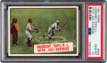 "Baseball Cards:Singles (1960-1969), 1961 Topps ""Hornsby Tops N.L. With .424 Average"" #404 PSA ..."