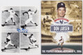 Autographs:Photos, Don Larsen The Perfect Evening Program & Signed Photograph....