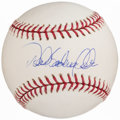 Autographs:Baseballs, Derek Sanderson Jeter Full Name Single Signed Baseball....