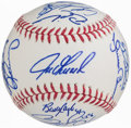 Autographs:Baseballs, 2011 New York Yankees Team Signed Baseball (26 Signatures)....