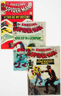 The Amazing Spider-Man #26, 29, and 31 Group (Marvel, 1965) Condition: Average VG/FN.... (Total: 3 Comic Books)