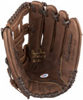 """Baseball Collectibles:Uniforms, Ozzie Smith """"The Wizard of St. Louis"""" Signed Glove. ..."""