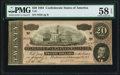 Confederate Notes:1864 Issues, T67 $20 1864 PF-3 Cr. 505 PMG Choice About Uncirculated 58 EPQ.. ...