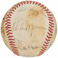 Autographs:Baseballs, 1978 New York Yankees - World Series Champions - Team Signed Baseball (25 Signatures)....