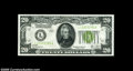 Small Size:Federal Reserve Notes, Fr. 2053-L $20 1928C Federal Reserve Note. Choice Crisp Uncirculated....