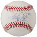 "Autographs:Baseballs, Derek Jeter ""The Captain #2"" Single Signed Baseball...."
