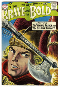 The Brave and the Bold #21 The Viking Prince and The Silent Knight (DC, 1958) Condition: VF+