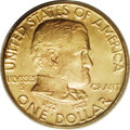 Commemorative Gold: , 1922 G$1 Grant no Star MS65 PCGS. Like many commemoratives'stories, the epilogue of the Grant pieces is one of broken prom...