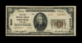 National Bank Notes:Kentucky, Pikeville, KY - $20 1929 Ty. 2 The First NB Ch. # 6622. This banktitle embossed $20 has the folds of an Extremely Fin...