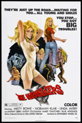 "Movie Posters:Bad Girl, The Hitchhikers (EVI, 1972). One Sheet (27"" X 41""). Bad Girl.Starring Misty Rowe, Norman Klar and Linda Avery. Directed by ..."