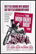 "Movie Posters:Action, The Mini-Skirt Mob (American International Pictures, 1968). OneSheet (27"" X 41""). Biker Film. Starring Jeremy Slate, Diane ..."