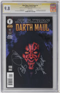 Modern Age (1980-Present):Science Fiction, Star Wars: Darth Maul #1 and 2 CGC Signature Series Group (DarkHorse, 2000) CGC NM/MT 9.8 White pages on both.... (Total: 2)