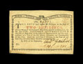 Colonial Notes:New York, New York January 6, 1776 (Water Works) 2s Gem New. This is anoutstanding example of this scarcest of the four New York Wate...