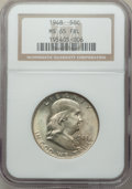 Franklin Half Dollars, 1948 50C MS65 Full Bell Lines NGC. NGC Census: (1098/143). PCGSPopulation: (2964/524). CDN: $130 Whsle. Bid for problem-fr...