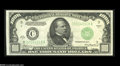 Small Size:Federal Reserve Notes, Fr. 2212-C $1000 1934A Federal Reserve Note. Mule. About Uncirculated....
