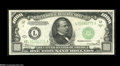 Small Size:Federal Reserve Notes, Fr. 2212-L $1000 1934A Federal Reserve Note. Mule. Choice Crisp Uncirculated....