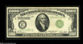 Small Size:Federal Reserve Notes, Fr. 2220-E $5000 1928 Federal Reserve Note. Very Fine....