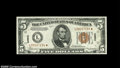Small Size:World War II Emergency Notes, Fr. 2301* $5 1934 Mule Hawaii Federal Reserve Note. Gem CrispUncirculated....