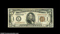 Small Size:World War II Emergency Notes, Fr. 2302* $5 1934A Hawaii Federal Reserve Note. ExtremelyFine-About Uncirculated....