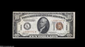 Small Size:World War II Emergency Notes, Fr. 2303* $10 1934A Hawaii Federal Reserve Note. Choice CrispUncirculated....