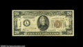 Small Size:World War II Emergency Notes, Fr. 2305* $20 1934A Mule Hawaii Federal Reserve Note. Fine....