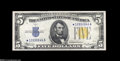 Small Size:World War II Emergency Notes, Fr. 2307* $5 1934A North Africa Silver Certificate. Choice CrispUncirculated....