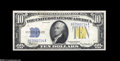 Small Size:World War II Emergency Notes, Fr. 2308 $10 1934 North Africa Silver Certificate. Choice AboutUncirculated....