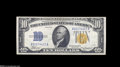 Small Size:World War II Emergency Notes, Fr. 2308 $10 1934 North Africa Silver Certificate. Extremely Fine....