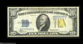 Small Size:World War II Emergency Notes, Fr. 2309 $10 1934A North Africa Silver Certificate. Very Fine....
