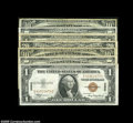 Small Size:World War II Emergency Notes, Some Hawaii & North Africa Notes, Including:... (7 notes)