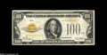 Small Size:Gold Certificates, Fr. 2405* $100 1928 Gold Certificate. Fine+....