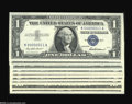 Small Size:Group Lots, Low Serial Number Collection.... (10 notes)