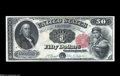 Large Size:Legal Tender Notes, Fr. 164 $50 1880 Legal Tender Extremely Fine-About New....