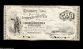 Large Size:Compound Interest Treasury Notes, Fr. 194 $500 1863 Compound Interest Treasury Note Fine....