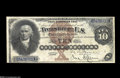 Large Size:Silver Certificates, Fr. 288 $10 1880 Silver Certificate Very Choice New....
