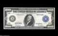 Large Size:Federal Reserve Notes, Fr. 1133 $1000 1918 Federal Reserve Note Extremely Fine....