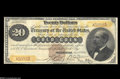 Large Size:Gold Certificates, Fr. 1175a $20 1882 Gold Certificate Very Fine....