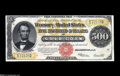 Large Size:Gold Certificates, Fr. 1217 $500 1922 Gold Certificate Extremely Fine....