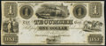 Obsoletes By State:Michigan, Tecumseh, MI- Tecumseh Bank $1 18__ Remainder Crisp Uncirculated.. ...