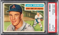 Baseball Cards:Singles (1950-1959), 1956 Topps Jack Crimian #319 PSA Gem Mint 10 - Pop One! ...
