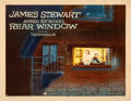 Movie Posters:Hitchcock, Rear Window (Paramount, 1954). Fine+ on Paper. Hal...