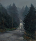 Fine Art - Painting, American:Modern  (1900 1949)  , Paul Rickert (American, b. 1947). Cape Road, 1980. Oil oncanvas. 50 x 42 inches (127 x 106.7 cm). Signed lower left:...