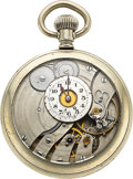 Timepieces:Pocket (post 1900), C. Girod Hand Made Lever Watch, Documented in Roy Erhardt Indicator Book No. 5. ...