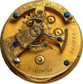 Timepieces:Other , Elgin Unusual School Watch Model, Elevated Lever Escapement. ...