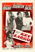 "Movie Posters:Film Noir, Key Largo (Warner Brothers, 1948). Fine/Very Fine on Linen. OneSheet (27"" X 41"").. ..."