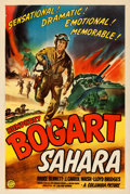 Movie Posters:War, Sahara (Columbia, 1943). Very Fine- on Linen. One ...