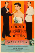 Movie Posters:Romance, Sabrina (Paramount, 1954). Fine+ on Linen. Poster ...