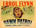 "Movie Posters:War, The Dawn Patrol (Warner Brothers, 1938). Fine on Paper. Linen Finish Half Sheet (22"" X 28"") Style A.. ..."